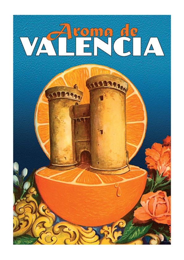 Aroma de Valencia lamina - poster