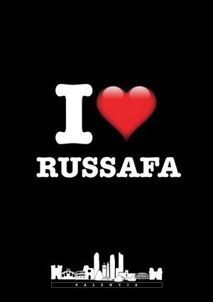 I love Russafa negro