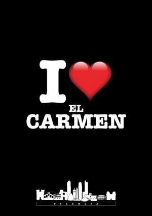 I love El Carmen negro