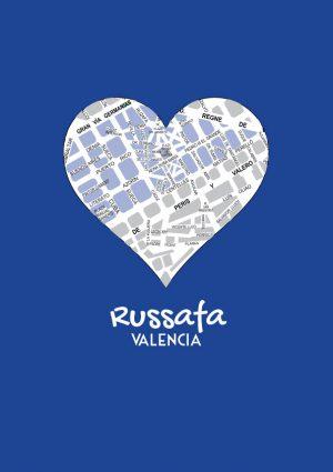 I love Russafa mapa