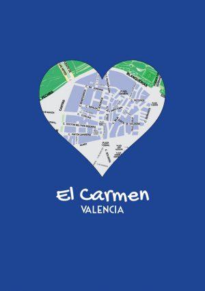 I love El Carmen mapa