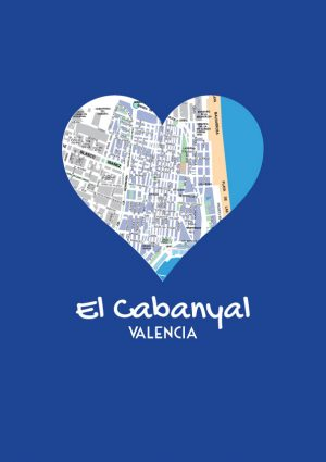 I love Cabanyal mapa