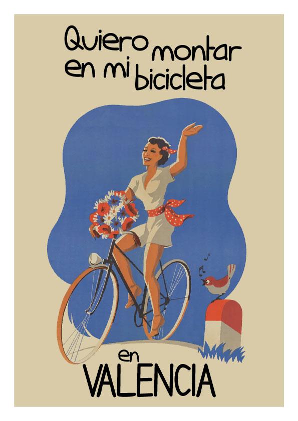 Bici En Valencia Lamina