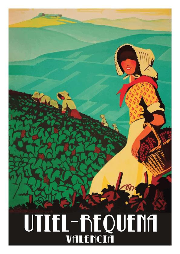 Requena y Utiel Valencia poster