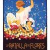 Batalla de Flores, lamina / poster de Artespana