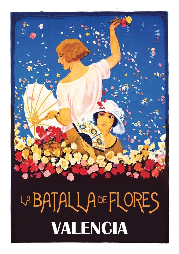 Batalla de Flores Valencia Poster