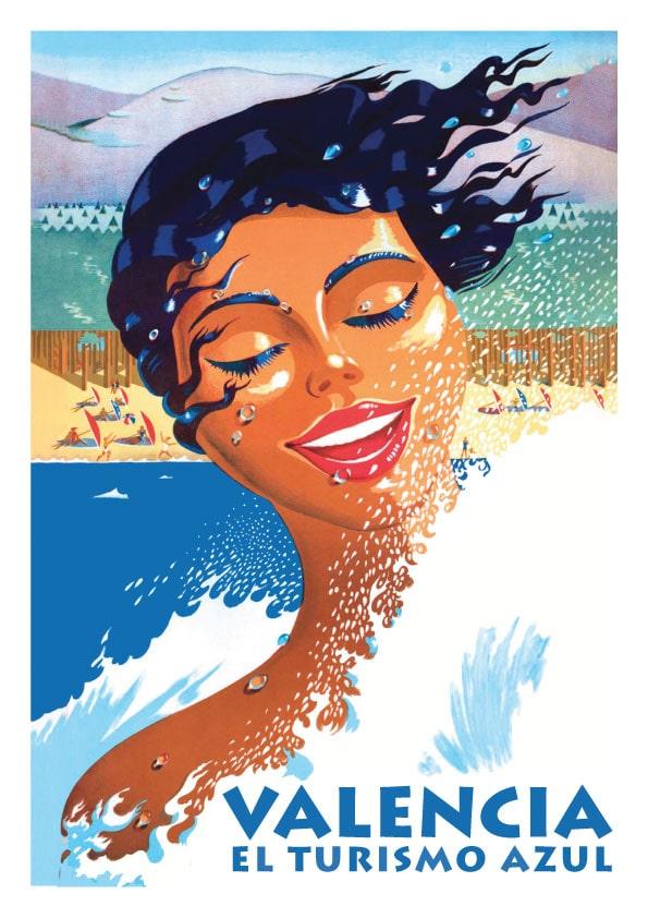 Turismo Valencia Poster